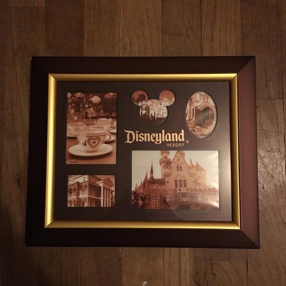 Disneyland Resort Wooden Picture Frame | Poshmark